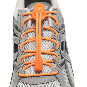 Lock Laces Run Laces arancione